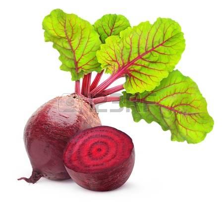 Rode bieten salade
